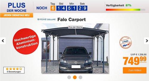 Home Deluxe Falo Carport - jetzt 6% billiger