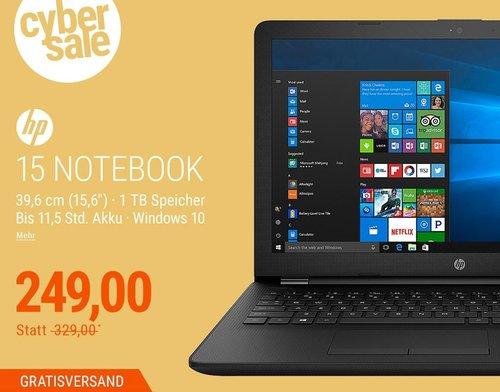 HP 15-bw067ng Notebook E2-9000E Windows 10 - jetzt 24% billiger