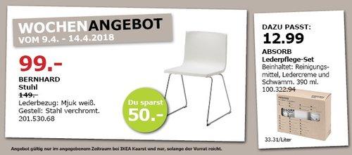 IKEA BERNHARD Stuhl - jetzt 34% billiger