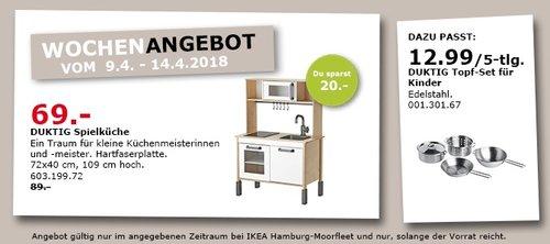 IKEA DUKTIG Spielküche - jetzt 22% billiger
