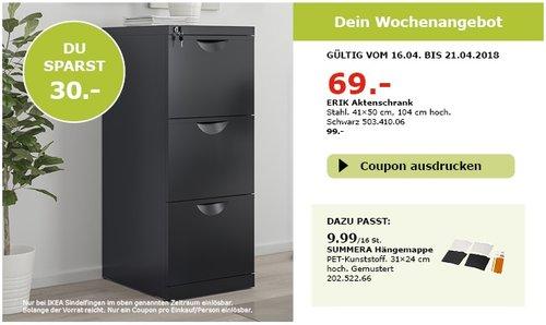 IKEA ERIK Aktenschrank - jetzt 30% billiger