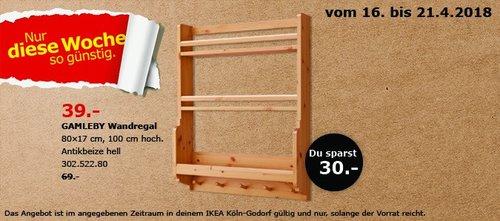 IKEA GAMLEBY Wandregal - jetzt 43% billiger
