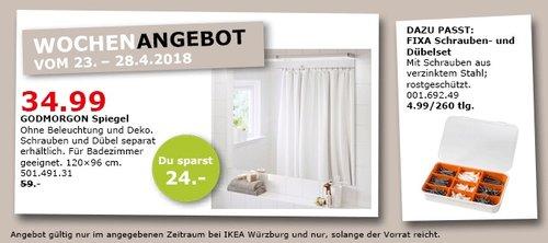 IKEA GODMORGON Spiegel - jetzt 41% billiger