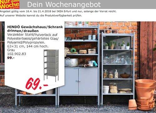 IKEA HINDÖ Gewächshaus / Schrank - jetzt 30% billiger