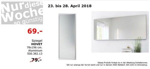 IKEA HOVET Spiegel - jetzt 13% billiger