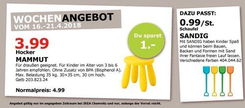 IKEA MAMMUT Hocker - jetzt 20% billiger