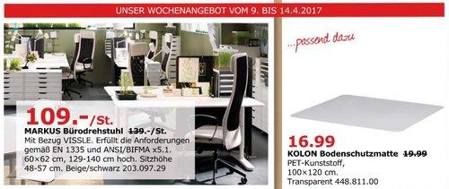 IKEA MARKUS Bürodrehstuhl - jetzt 22% billiger