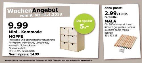 IKEA MOPPE Mini - Kommode - jetzt 33% billiger