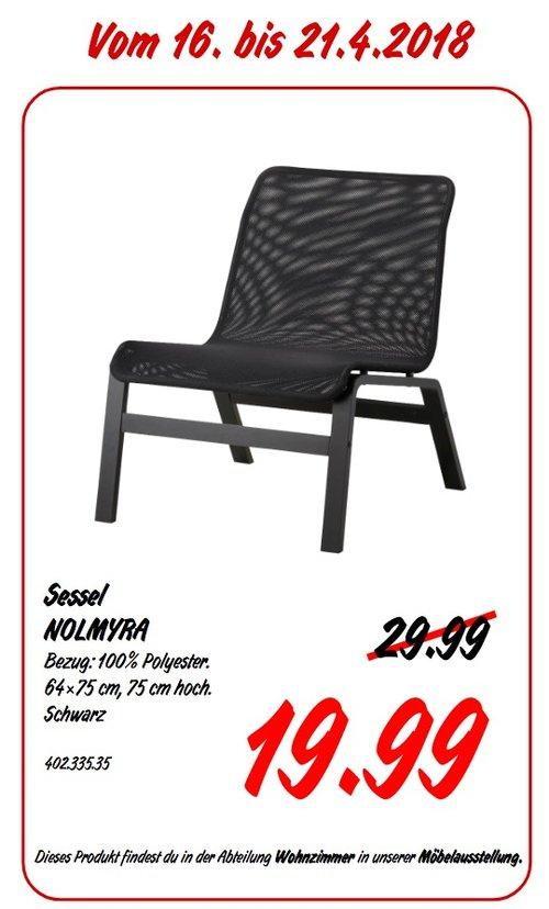 IKEA NOLMYRA Sessel - jetzt 33% billiger