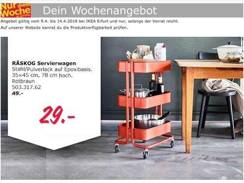 IKEA RASKOG Servierwagen - jetzt 41% billiger