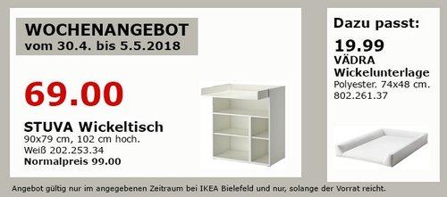 IKEA STUVA Wickeltisch - jetzt 30% billiger