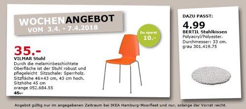 IKEA VILMAR Stuhl - jetzt 22% billiger