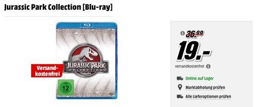 Jurassic Park Collection [Blu-ray] - jetzt 21% billiger