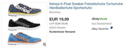 Kempa K-Float Sneaker - jetzt 40% billiger