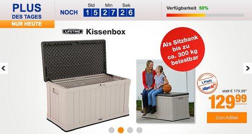 Lifetime Kissenbox 440 Liter - jetzt 27% billiger
