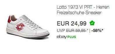Lotto 1973 VI PRT - Herren Freizeitschuhe Sneaker Turnschuhe - T0011 - jetzt 38% billiger