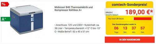 Mobicool B40 Thermoelektrik und Kompressor Kühlbox A+ - jetzt 14% billiger