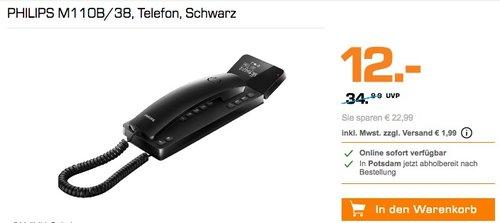 PHILIPS M110B/38 Telefon - jetzt 60% billiger