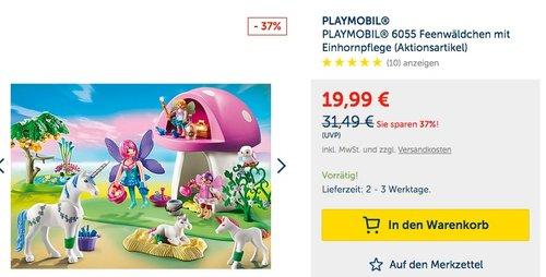 Playmobil 6055 - Feenwäldchen mit Einhornpflege - jetzt 27% billiger