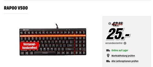 Rapoo VPRO V500 mechanische Gaming Tastatur - jetzt 37% billiger