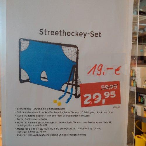 Tchibo Streethockey-Set - jetzt 37% billiger