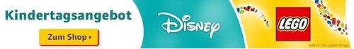 Amazon Kindertagsangebot: 10% sparen auf Disney & LEGO® Produkte - jetzt 10% billiger