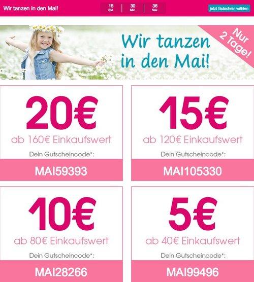 Babymarkt.de -bis zu 20€ Rabatt auf fast alles und nur heute (01.05.18) - jetzt 13% billiger