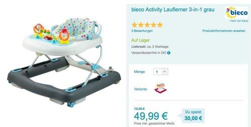 bieco Activity Lauflerner 3-in-1 - jetzt 7% billiger
