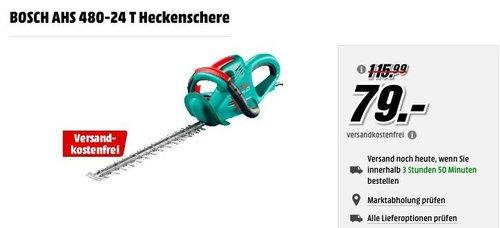 Bosch DIY Heckenschere AHS 480-24 T - jetzt 11% billiger