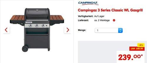 Campingaz 3 Series Classic WL Gasgrill - jetzt 14% billiger
