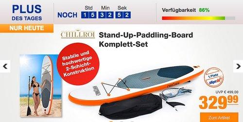 Chillroi Stand-Up-Paddling-Board Komplett-Set Weiß, 300 x 76 x 15 cm - jetzt 11% billiger