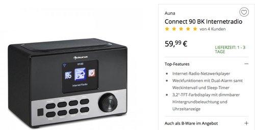 Connect 90 Internetradio - jetzt 12% billiger