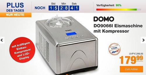 DOMO DO9066I Eismaschine mit Kompressor - jetzt 18% billiger