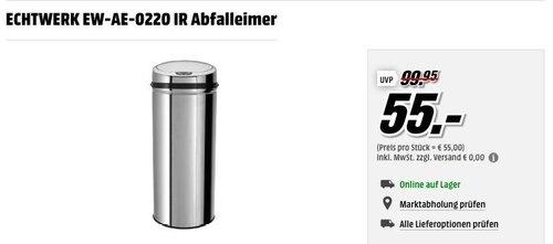 ECHTWERK EW-AE-0220 IR Abfalleimer - jetzt 5% billiger
