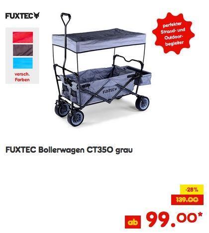 FUXTEC Bollerwagen CT350 - jetzt 23% billiger