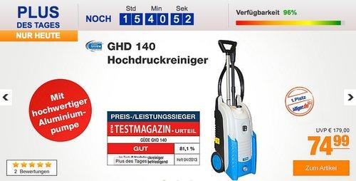 Güde GHD 140 Hochdruckreiniger - jetzt 25% billiger