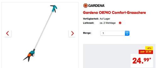 Gardena 08740 Comfort-Grasschere - jetzt 17% billiger
