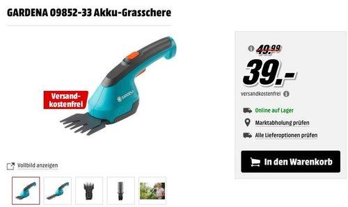 GARDENA 09852-33 Akku-Grasschere - jetzt 16% billiger