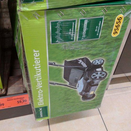 GARDENLINE Elektro-Vertikutierer - jetzt 25% billiger