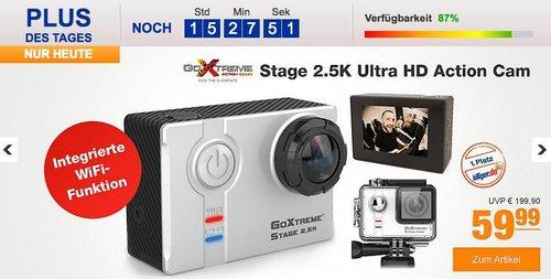 GoXtreme Stage 2.5K Ultra HD Action Cam - jetzt 29% billiger