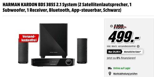 HARMAN KARDON BDS 385S 2.1 System - jetzt 44% billiger