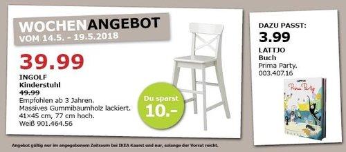 IKEA INGOLF Kinderstuhl - jetzt 20% billiger