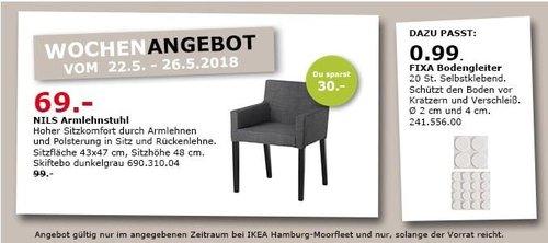 IKEA NILS Armlehnstuhl - jetzt 30% billiger