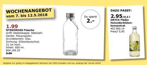 IKEA NYSKÖRDAD Flasche - jetzt 50% billiger