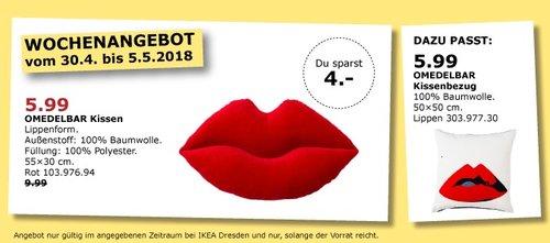 IKEA OMEDELBAR Kissen - jetzt 40% billiger