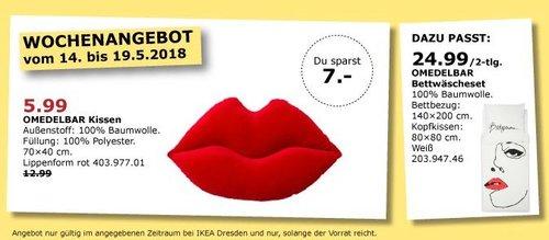 IKEA OMEDELBAR Kissen - jetzt 54% billiger