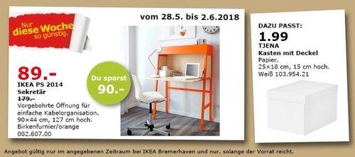 IKEA PS 2014 Sekretär - jetzt 50% billiger