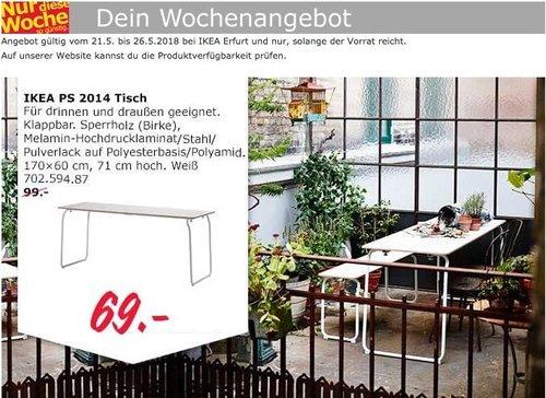 IKEA PS 2014 Tisch für drinnen und draußen - jetzt 30% billiger