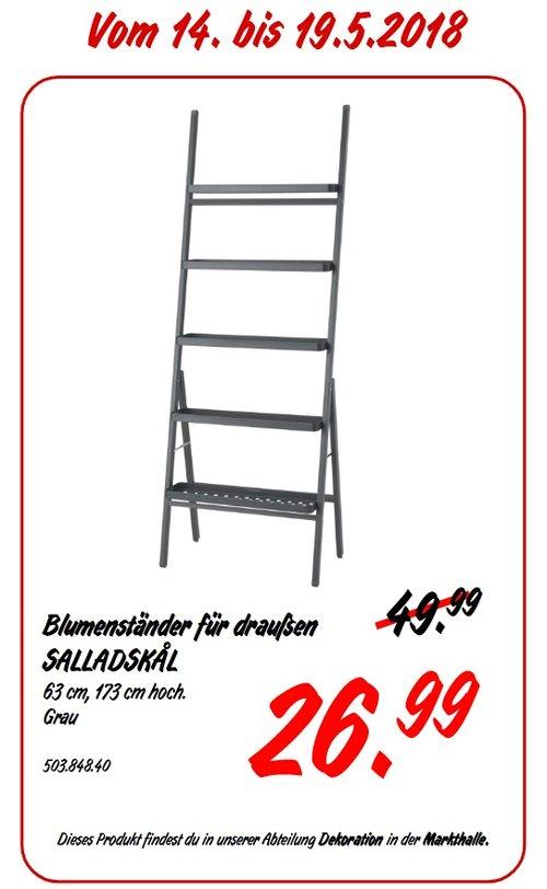 IKEA SALLADSKAL Blumenständer für draußen - jetzt 46% billiger