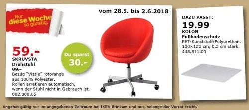 IKEA SKRUVSTA Drehstuhl - jetzt 34% billiger